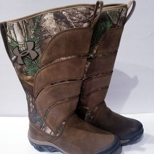 Under Armour Atrox Real Tree Snake Boots Hunting